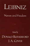 Leibniz, Nature and Freedom, by Donald Rutherford and J.A. Cover